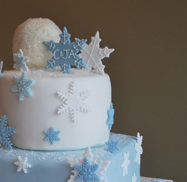 Winter Wedding Cake Flavors: SweetThings: Winter Wedding & Happy New Year