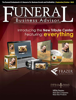 funeral business advisor front cover