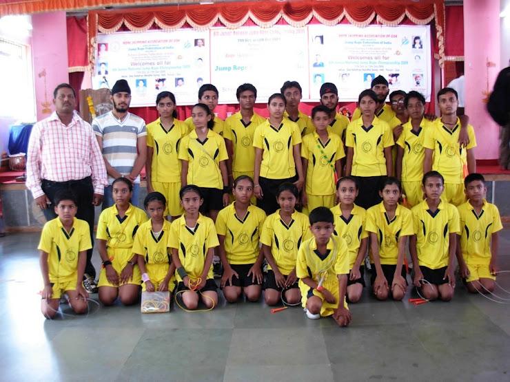 6th Juniour National Jump Rope Championship (Goa)