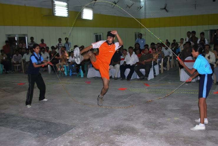 Jump Rope Demonstration (Korba)
