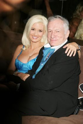 """Girl Next Door""Holly Madison and Hugh Hefner"