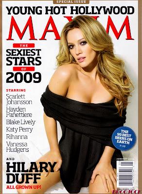 Hilary Duff Hot Maxim January 2009 Photos