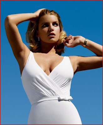 hot Jessica Simpson Sizzles on Vanity Fair June 2009
