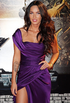 Megan Fox Sizzles In Hot Outfit at Premiere of Transformers Sequel