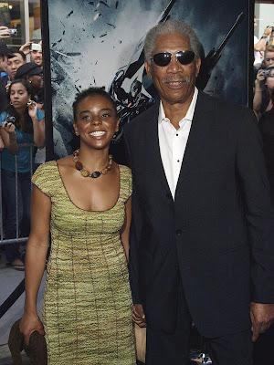 E'Dena Hines & Morgan Freeman Affair