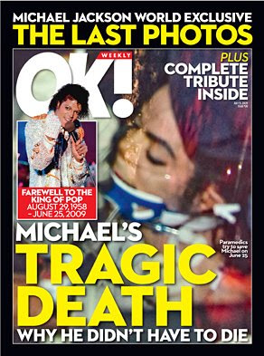 OK Magazine Michael Jackson Cover