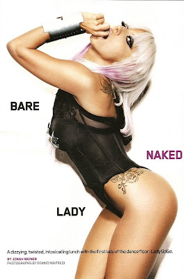 Lady GaGa Smoking Hot Maxim Magazine Pictures