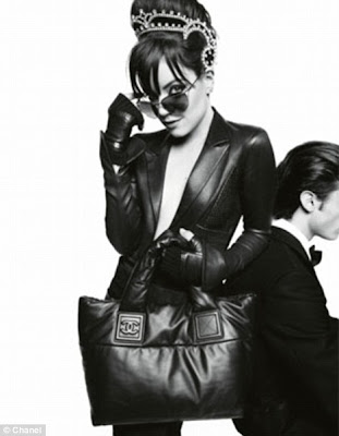 Lily Allen's Sexy Photo-Shoot for Chanel