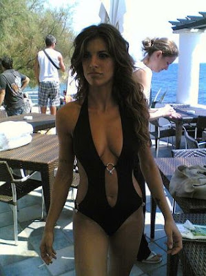 Elisabetta Canalis,hot models & actress ,George Clooney's girlfriend