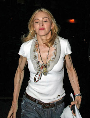 Madonna's Biceps Photos :Madonna Pictures