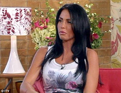 Katie Price appeared on This Morning show