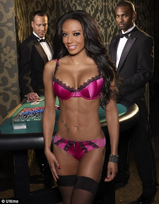 Mel B Sizzling Hot Photoshoot For Ultimo Lingerie