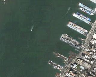 Atlantide sul fondo del porto di New York?