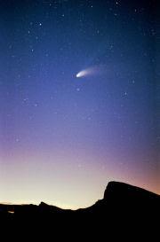 La grande cometa Hale-Bopp