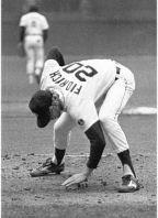 Rituali scaramantici di un giocatore di baseball