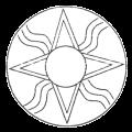 Il simbolo sumero per il Sole