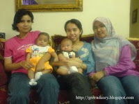 left: lis, haris, shima, amir, nasiah
