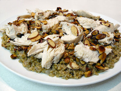 Chicken With Kale And Freekeh-Lentil Pilaf Recipes — Dishmaps
