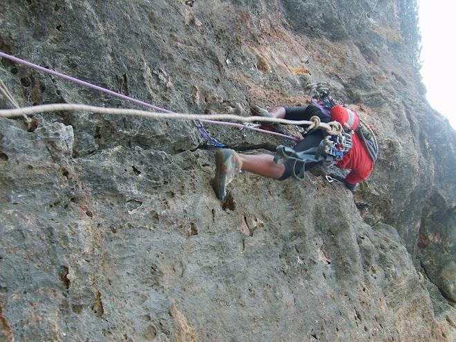 rock climbing - siung D.I. Jogja
