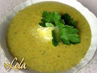 Тыквенный суп-пюре в соевой корове