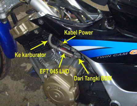 Instalasi EFT 045 LHD
