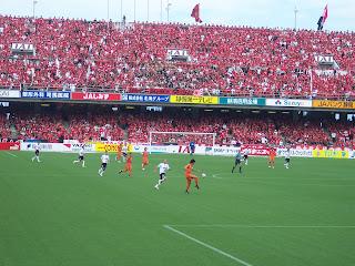 Shimizu S-Pulse vs Urawa Reds, Nihondaira Stadium, June 23 2007