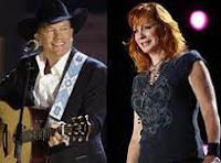 George Strait and Reba McEntire