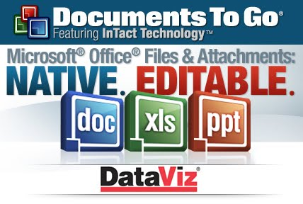 OFFICE PARA PALM: DOCUMENT TO GO 11 (WORD, EXCEL, POWERPOINT, PDF)