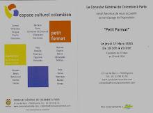 """Virginia Hernandez en colectiva """"PETIT FORMAT"""" Consulado de Paris"""