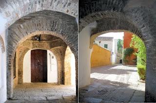 Entrada a la Juderia Aljama de Sevilla