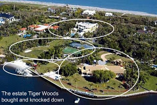 Energetic Youth Tiger Woods Hawaii House