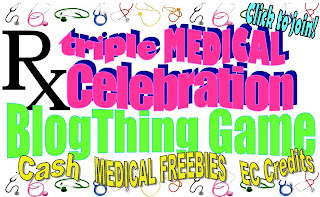 Triple Medical Celebration: BlogThing Game