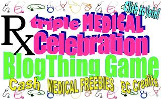 Triple Medical Celebration: BlogThing Game
