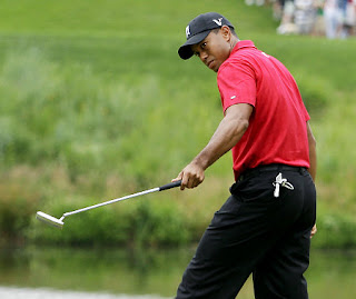 Tiger Woods Injured in a Car Accident
