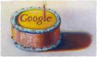 Happy 12th Birthday Google!