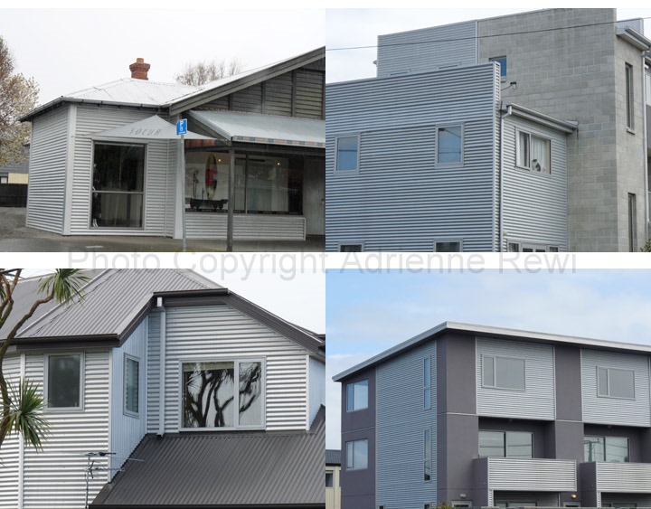 Adrienne rewi online corrugated iron the new architecture for Corrugated iron home designs