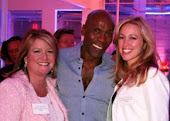 Myself, Mr. Preston Bailey & Robyn at Bride & Bloom Magazines 1st Anniversary event in LA