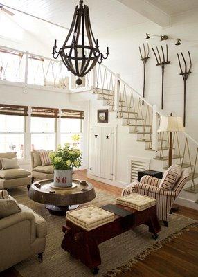 Trend alert repurposed wood chandeliers wine barrel chandelier duchess fare aloadofball Image collections