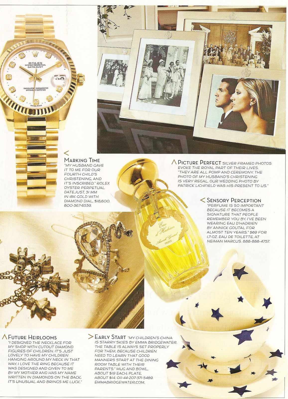 ... 2006 House U0026 Garden Magazine. Check Out The Photos Below For A Look  Into Her Elegant Family Home. Click Here For More Info On The Prince And  Princess ...