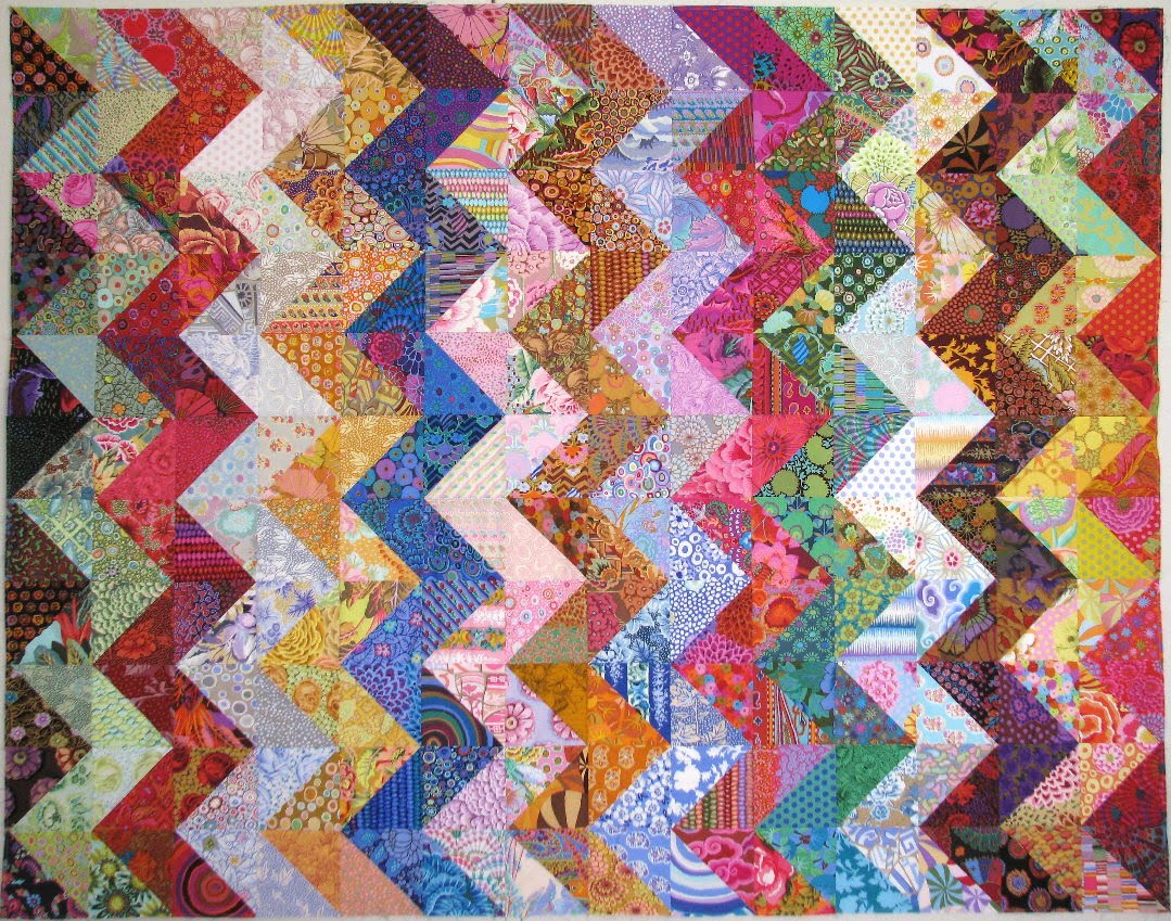 Exuberant color quilts with kaffe fassett fabric for Quilting material