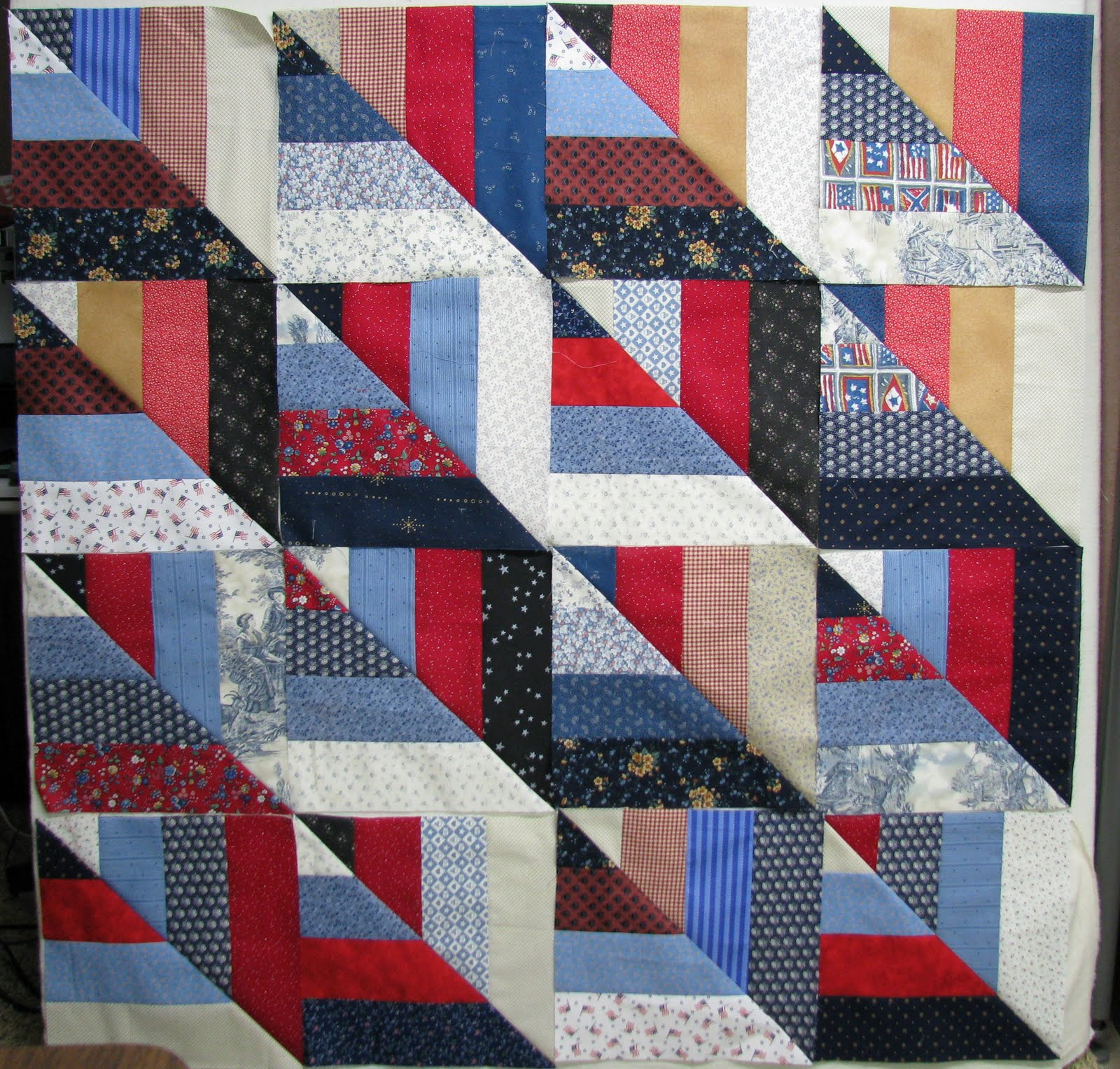 Exuberant Color : Twisted Rail tutorial : fence rail quilt pattern instructions - Adamdwight.com