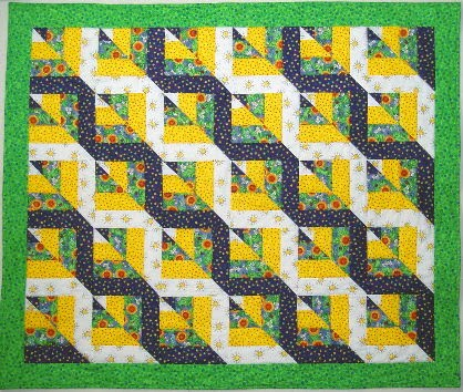 Exuberant Color : Twisted Rail tutorial : rail fence quilt pattern - Adamdwight.com