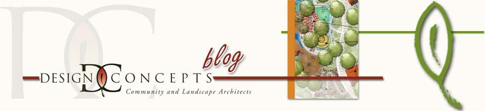 Design Concepts Landscape Architecture: Blog