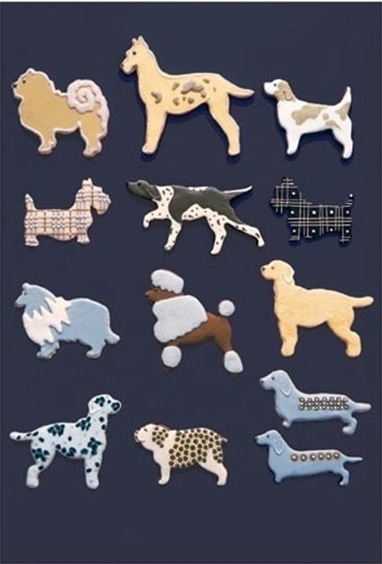 Dog Breed Shaped Cookie Cutters
