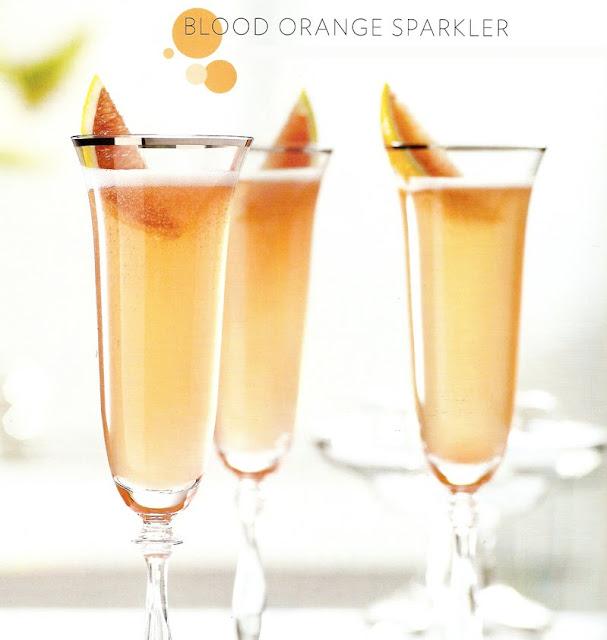 Blood Orange Gin Sparkler Recipe — Dishmaps