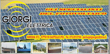 Energia dal sole GIORGI Elettrica