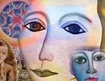 Women with Mandala, Jennifer O'Neill Pickering