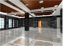 Design Lantai Dasar (Ruang Serba Guna)