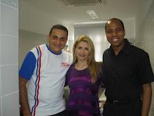 Ricardo Leitte, Valéria Rodrigues e Cleber Carvalho