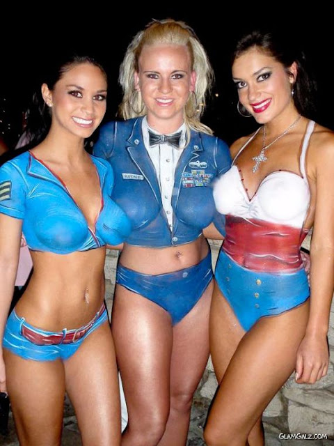 Swepeez - Fun Is On Air: Halloween Body Paint Costumes